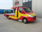IVECO Daily mit Aluplateau und Hubbrille